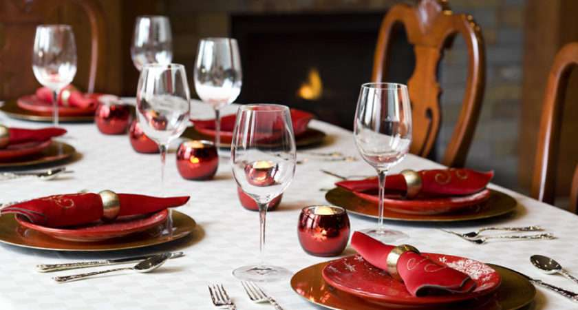 Fancy Table Setting Ideas Dinner Parties Holidays