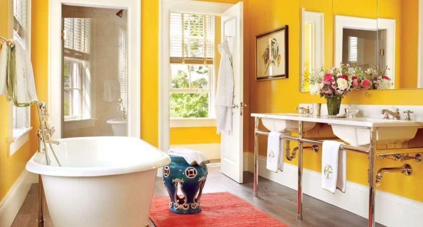 Fantastic Ideas Decorating Colorful Bathroom