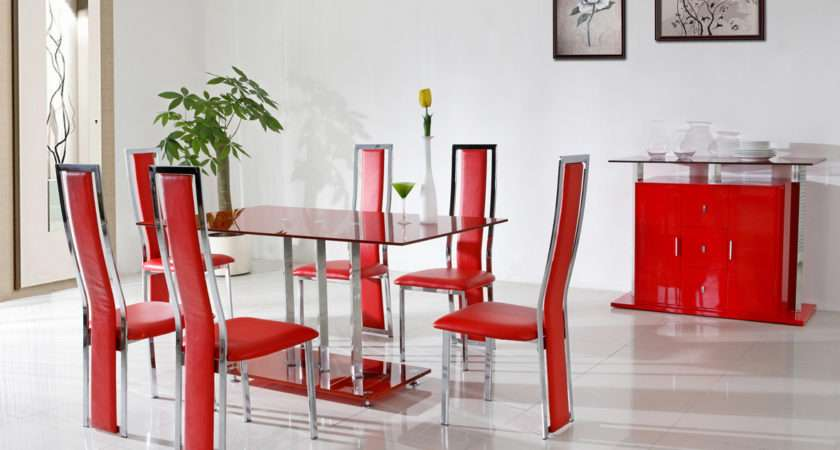 Fantastic Red Dining Room Decorating Ideas