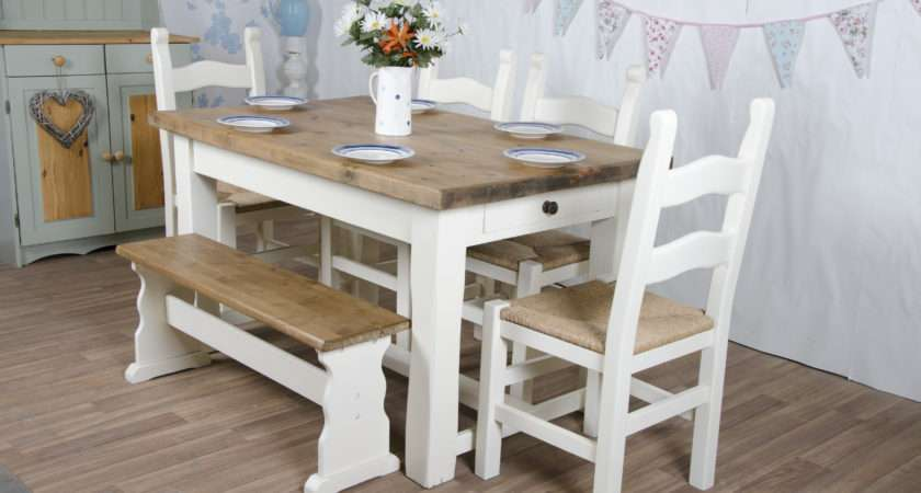 Farmhouse Furniture Handmade Country Style Tables