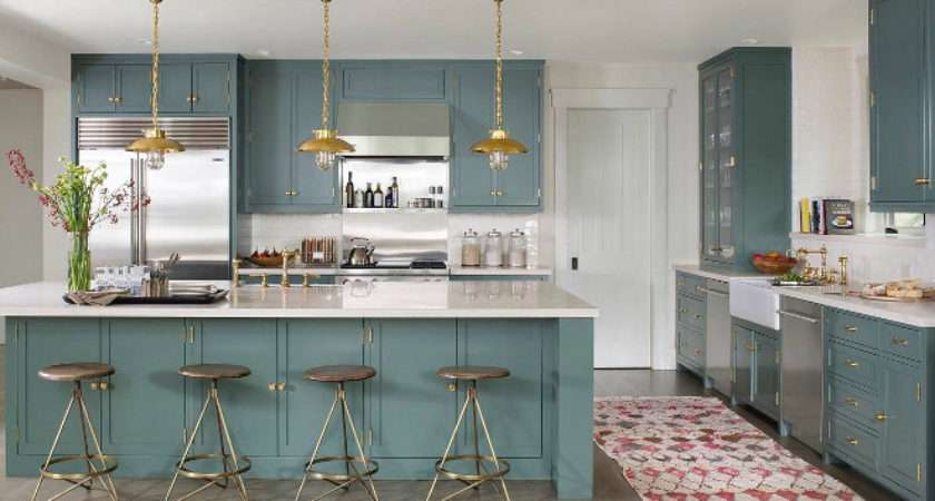 Farrow Ball Green Smoke Cabinetry Painted