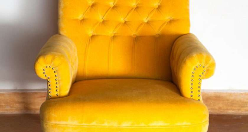 Fascinating Yellow Living Room Chairs Home Design Lover
