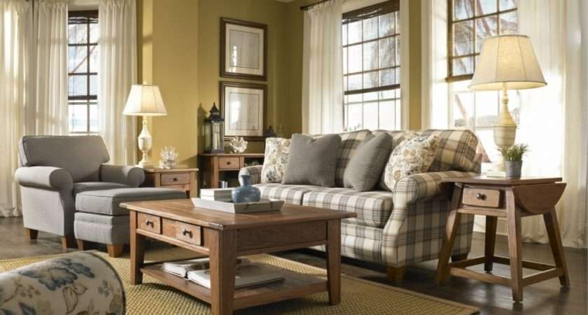 Fashionable Country Living Room Furniture Sets