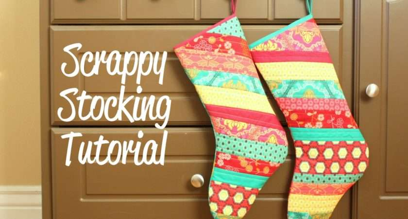 Fat Quarter Gang Scrappy Christmas Stockings Diary Quilter