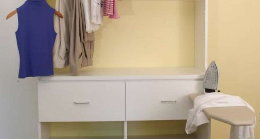 Favorite Spaces Irons Out Wrinkles Any Laundry Room