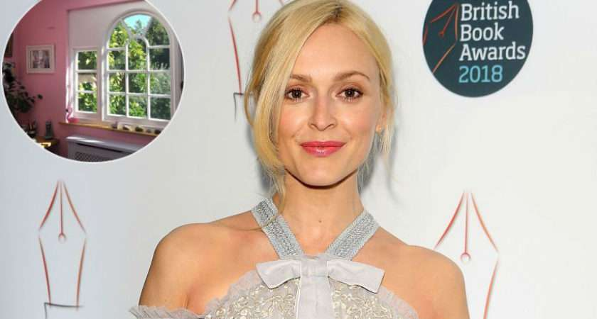 Fearne Cotton Office Millennial Pink Paradise