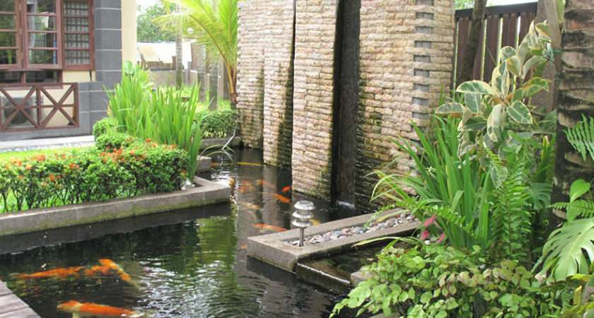 Feature Designs Backyard Outdoor Home Garden Water Ideas