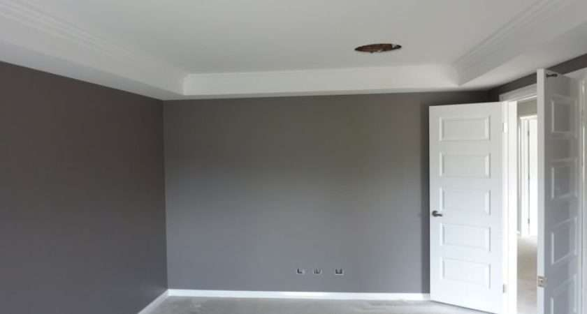 Feature Wall Dulux Exposed Elements Skirting Ceiling