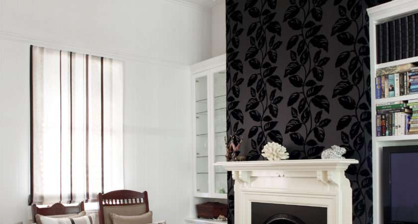 Feature Walls Living Rooms Ideas