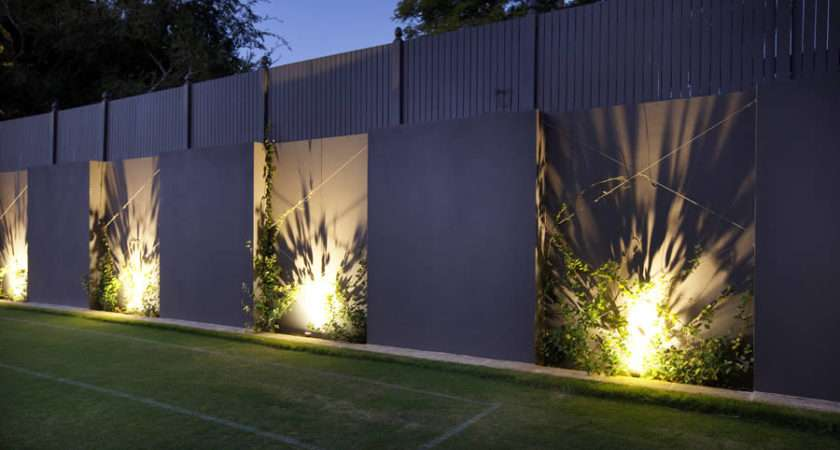 Feature Walls Pillars Garden Light Company