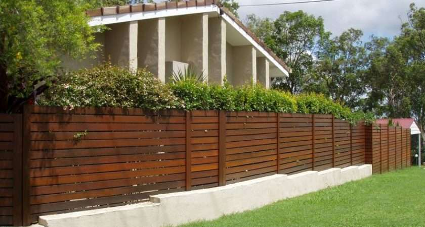Fence Design Ideas Style Wooden Garden Fencing
