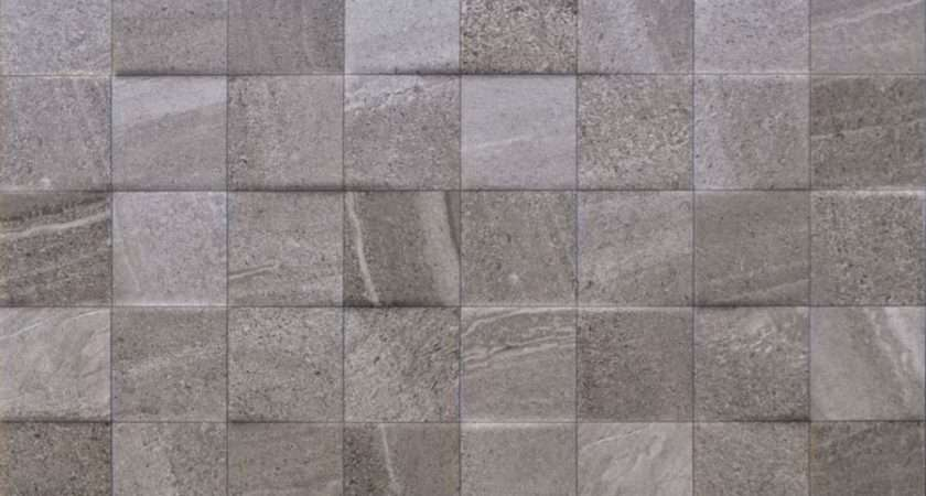 Fiji Stone Grey Decor Wall Tile Ceramic Planet