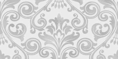 Fine Decor Wentworth Damask Black Grey Cream