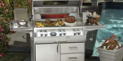 Fire Magic Offers Professional Grade Freestanding Gas Barbecue Grill