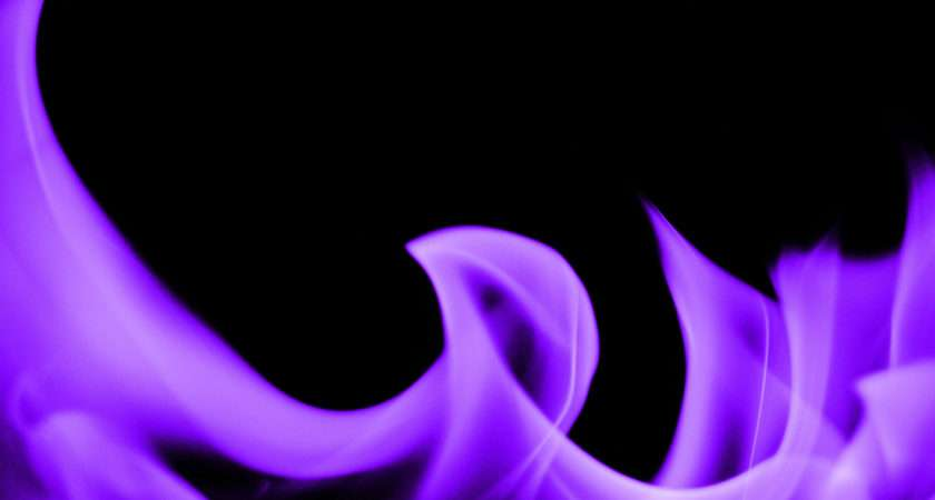 Fire Textures Purple Texture Violet Flame Burn