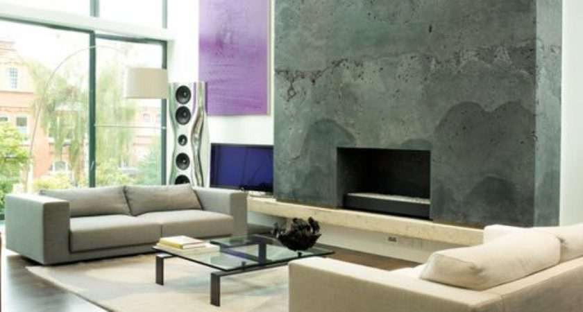 Fireplace Feature Wall Home Design Ideas