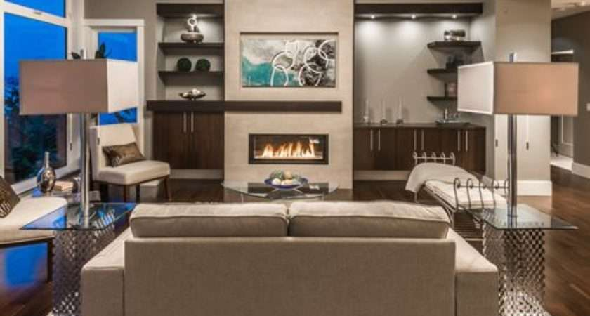 Fireplace Feature Wall Ideas Remodel Decor