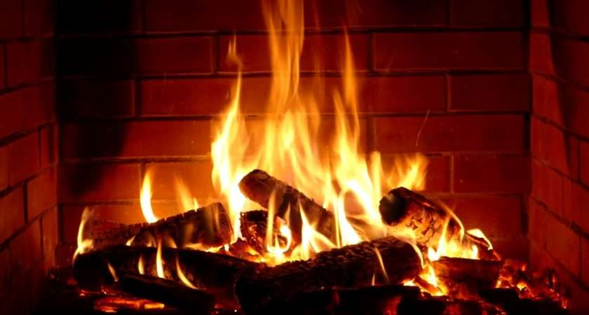 Fireplace Hours Crackling Logs
