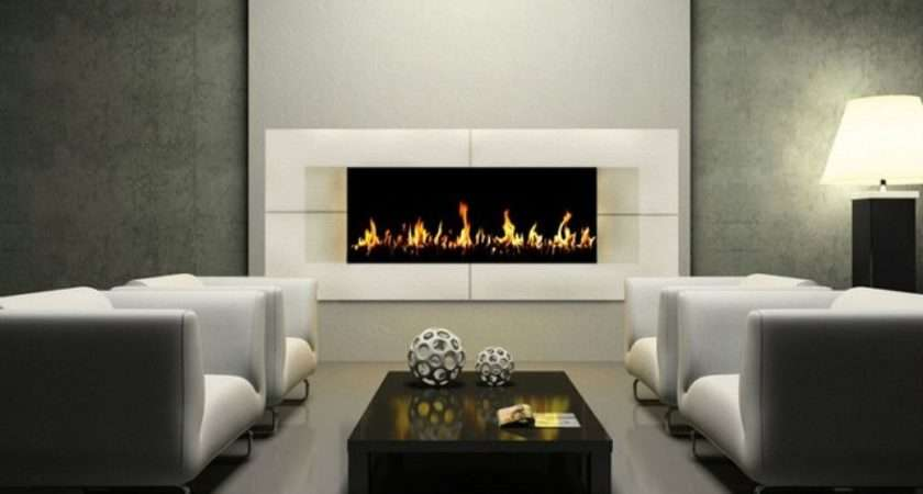 Fireplace Mantels Modern Living Room Other Metro