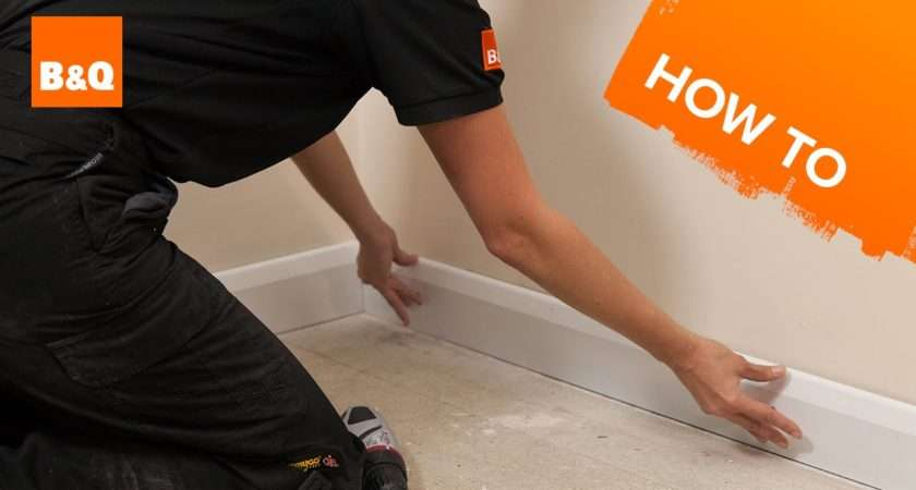 Fit Skirting Boards Part Fixing Youtube