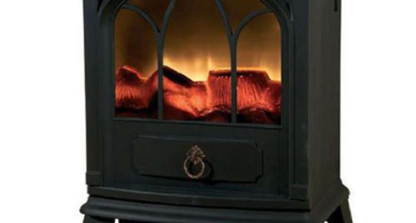 Flame Effect Log Burning Stove Heater Electric Fire