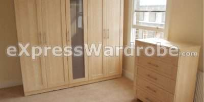 Flat Pack Wardrobes Sliding Door Standing Wardrobe