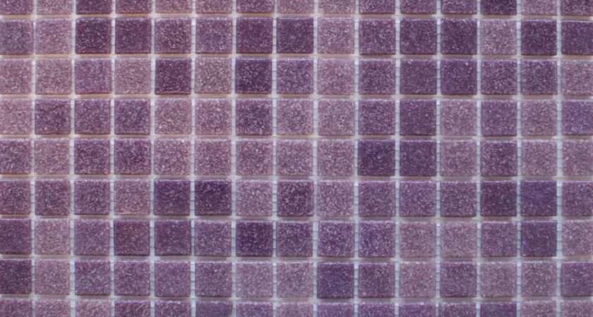 Floor Design Breathtaking Purple Square Vinyl Mosaic Tile