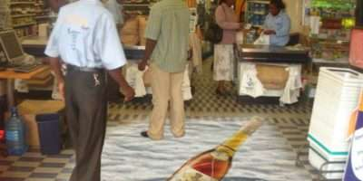 Floor Vinyl Graphics Can Used Malls Hotels Shopping Arcade