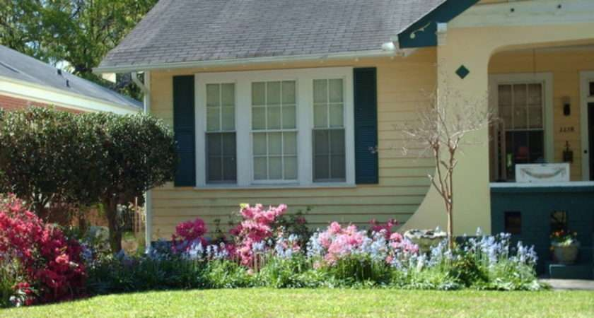 Flower Beds Front House Ideas