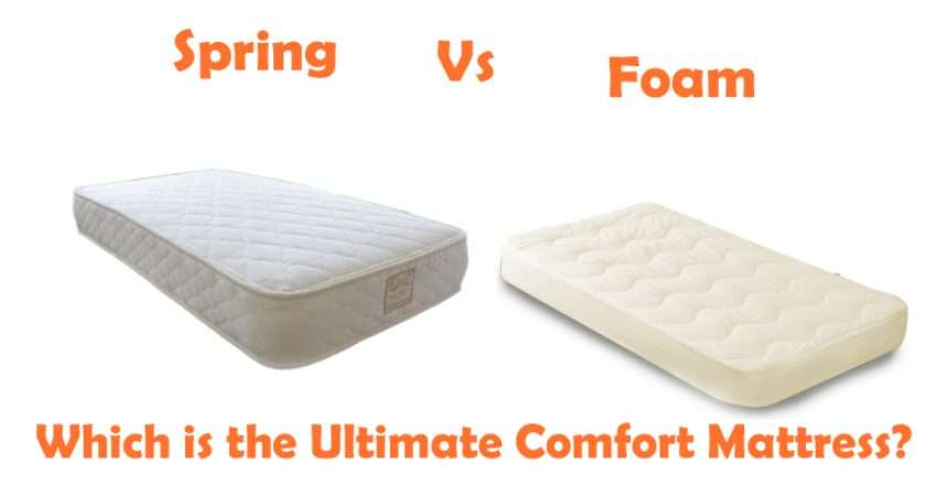 Foam Spring Mattress Which Ultimate Comfort