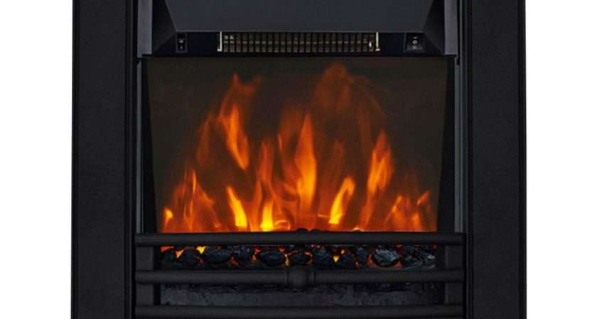 Focal Point Soho Black Electric Inset Fire