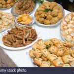 Food Buffet Table Wedding Reception