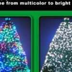 Foot Christmas Tree Fiber Optic Multi Colored