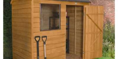 Forest Garden Overlap Dip Treated Reverse Apex Shed