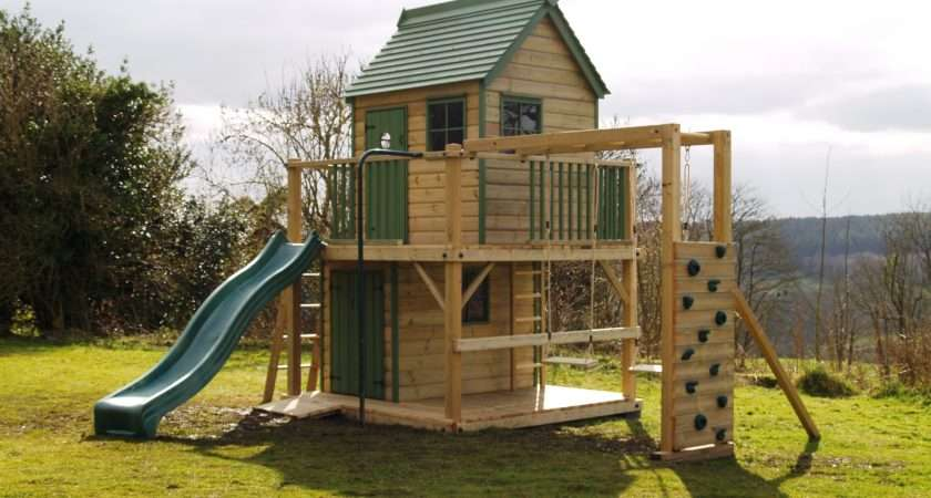 Forest Mega Most Popular Childrens Wooden Playhouse