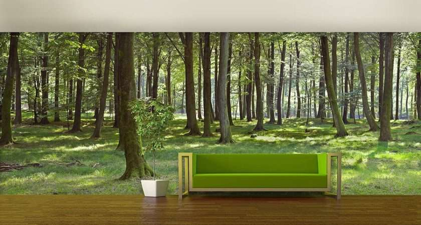 Forest Mural Woodland Self Adhesive
