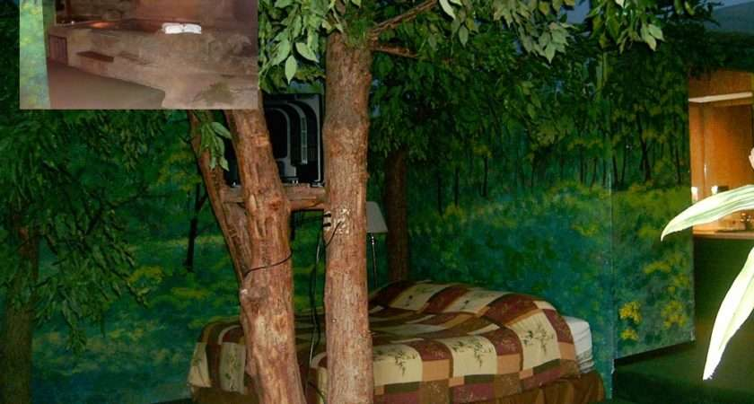 Forest Themed Bedroom Real Estate