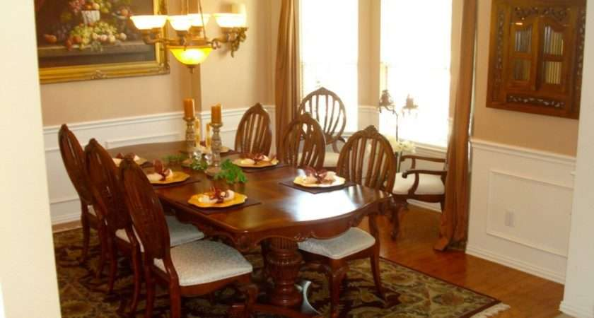 Formal Dining Room Tables Special Occasions