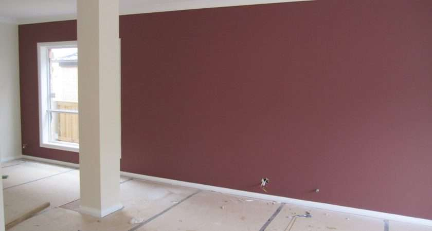 Formal Living Room Feature Wall Dulux Lampoon House