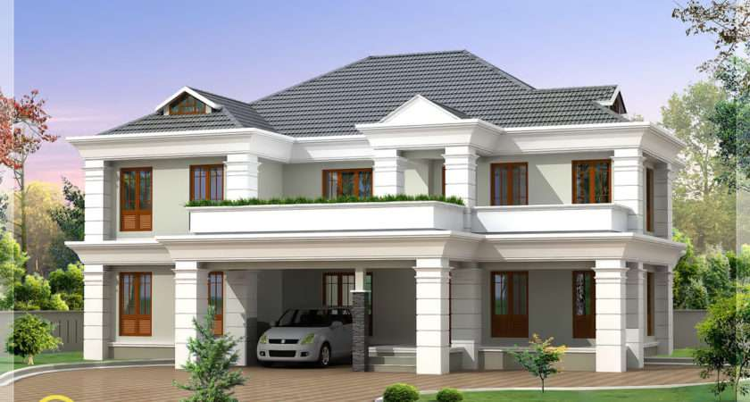 Four India Style House Designs Kerala Home Design