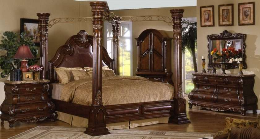 Four Poster Canopy Bed King