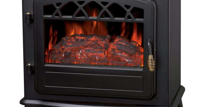 Foxhunter Log Burning Effect Electric Fire Stove