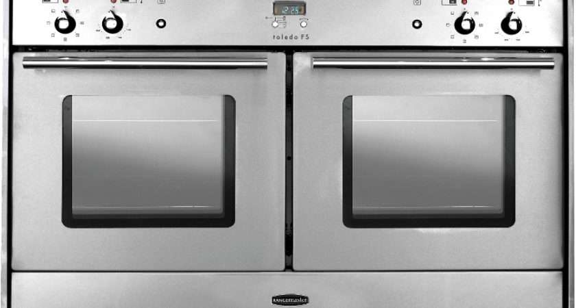 Freestyle Double Oven Stainless Steel Chrome Trim Built Range
