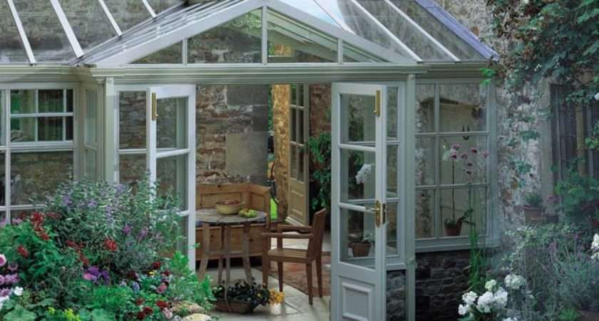 French Country Home Conservatory Ideas