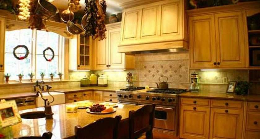 French Country Kitchen Decorating Ideas Home