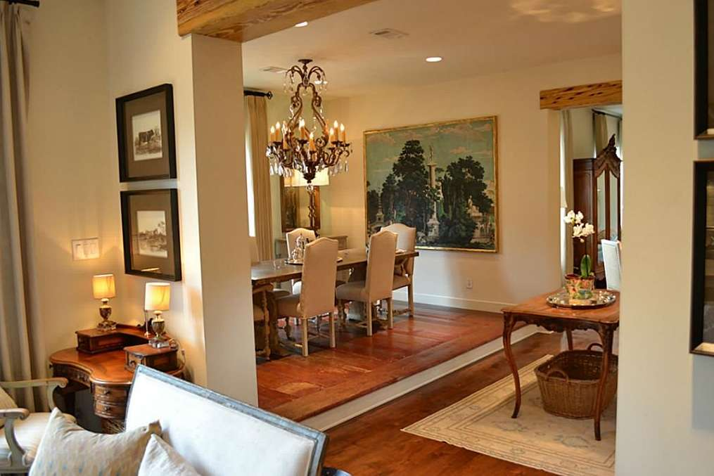 French Country Style Modern Day Townhouse Fashioned Old World