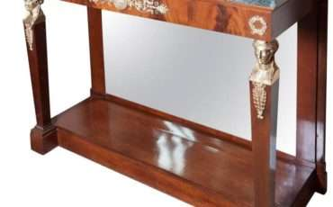 French Empire Style Console Table Sale Stdibs