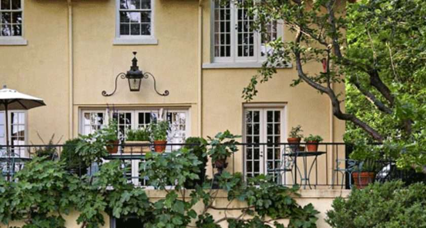 French Garden Southern Setting Traditional Home