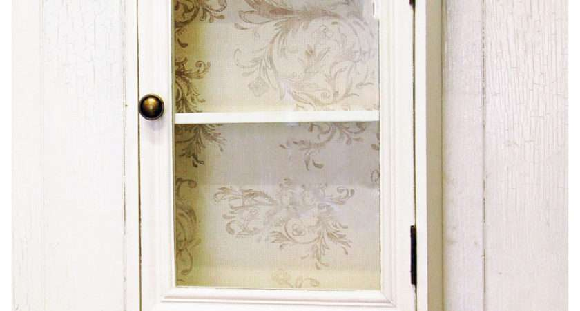 French Shabby Chic Wall Cabinet