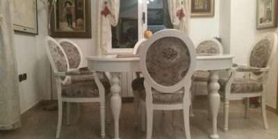 French Style Vintage Chair Table Dining Room Sets Buy Shabby Chic